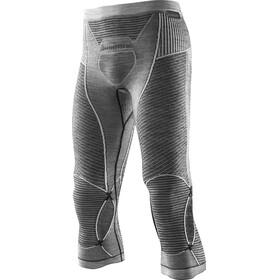 X-Bionic Apani Merino By X-Bionic Fastflow Medium Uw Pants Men Black/Grey/Ivory
